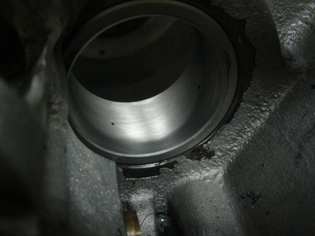 1977FLHpinion shaft bearing race5