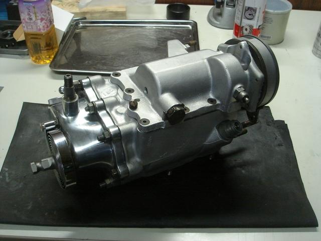 1977FLH transmission repair done5