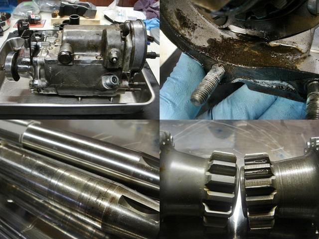 1977FLH transmission repair1