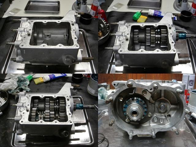 1977FLH transmission repair3