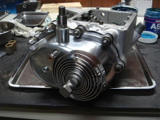 1977FLH transmission repair6