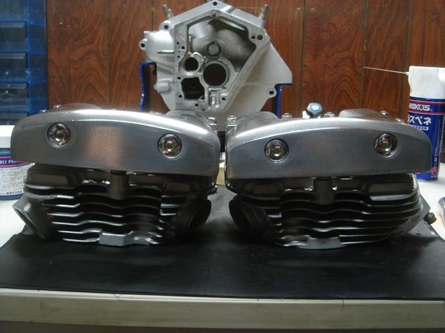 1977FLHcylinder head repair6
