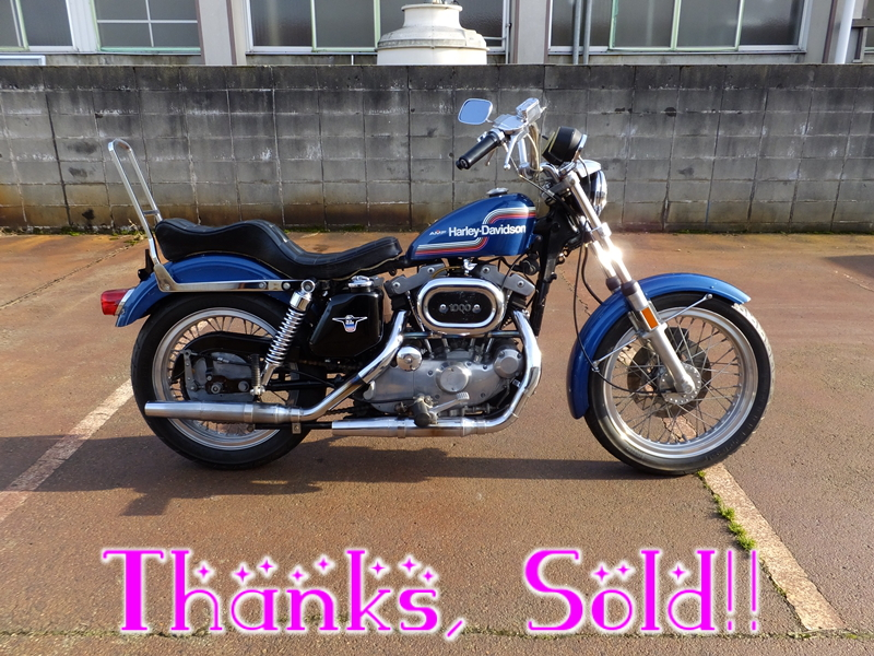 1975XLH1000 sportster sold