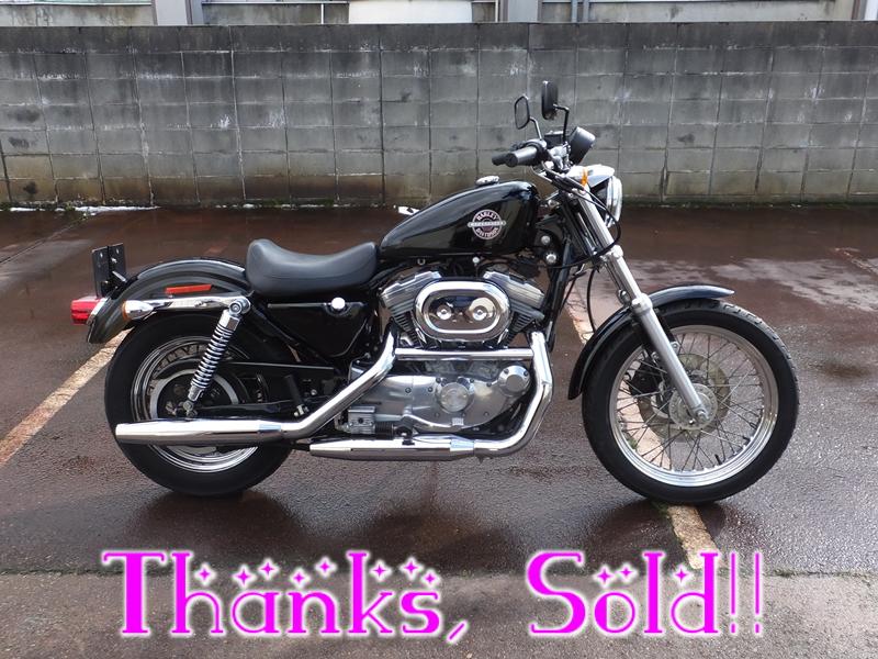 2002XLH883スポーツスター883 sold