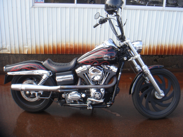 2006FXDB thuder header one off