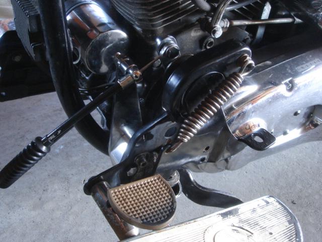 1994FLSTN rocker clutch repair7