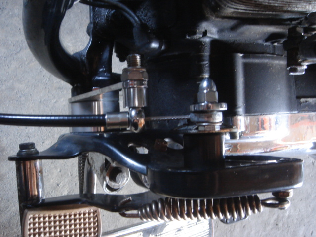 1994FLSTN rocker clutch repair8