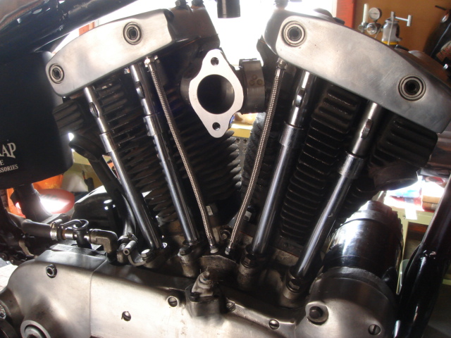 1966年式XLCH アイアンスポーツリジッド エンジン腰上オーバーホール4