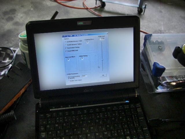 2000年式FLSTSリアタイヤ&モジュール交換8