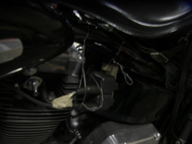 2000FLSTS coil bracket welding repair job1