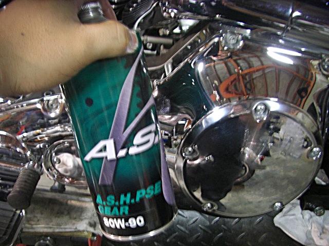 2003FLSTS kijima old bullet marker & oil cahnge7