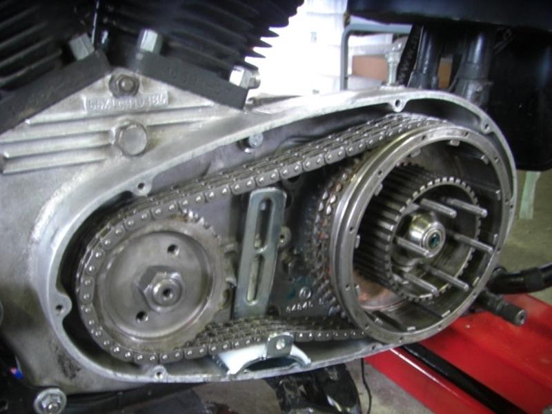 1969年式XLCH アイアンスポーツリジッド エンジン・ミッションオーバーホール79