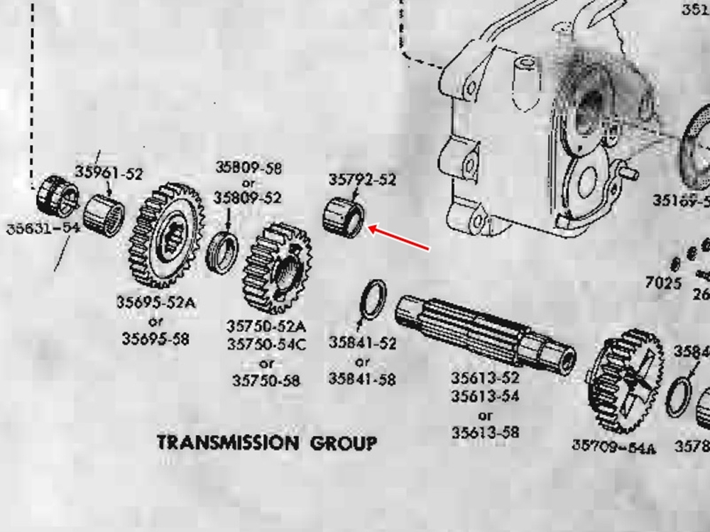 1956KHK トランスミッションオーバーホール ブッシングワンオフ製作1