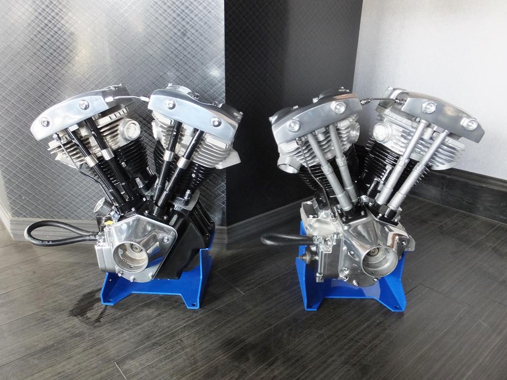 1979FLH&1982FXB ショベルヘッドエンジンオーバーホール1
