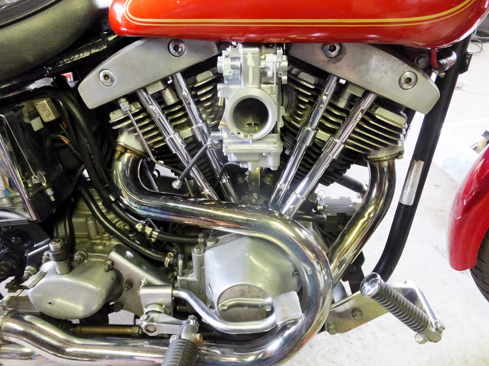 1981FXEFショベルヘッド エンジン内部コーティング3