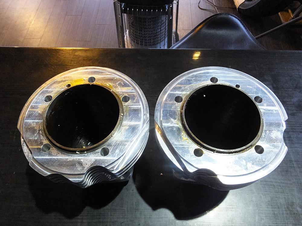 ショベル用アルミビレットビッグボアシリンダー キャリロ鍛造ピストン3