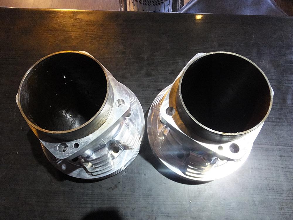 ショベル用アルミビレットビッグボアシリンダー キャリロ鍛造ピストン4