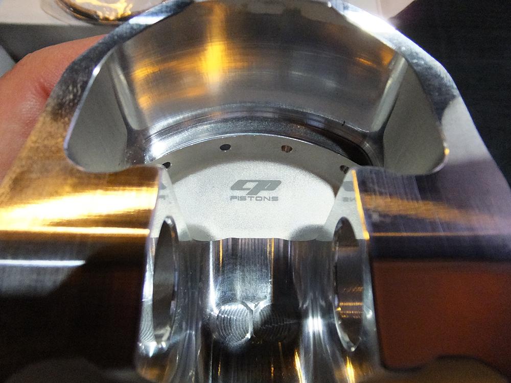 ショベル用アルミビレットビッグボアシリンダー キャリロ鍛造ピストン7