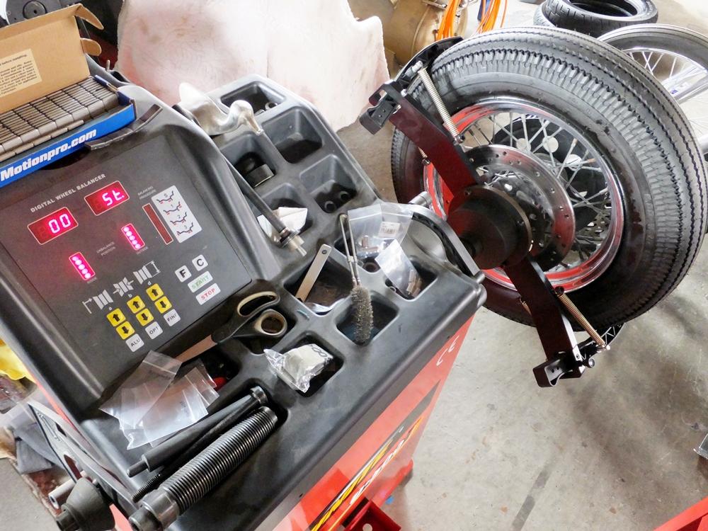 2003XL883H タイヤ・ネックベアリング交換 フロントフォークオーバーホール11