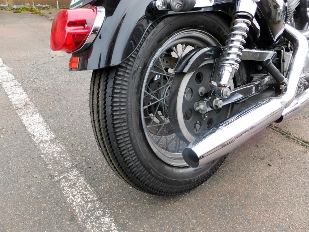 2003XL883H タイヤ・ネックベアリング交換 フロントフォークオーバーホール15