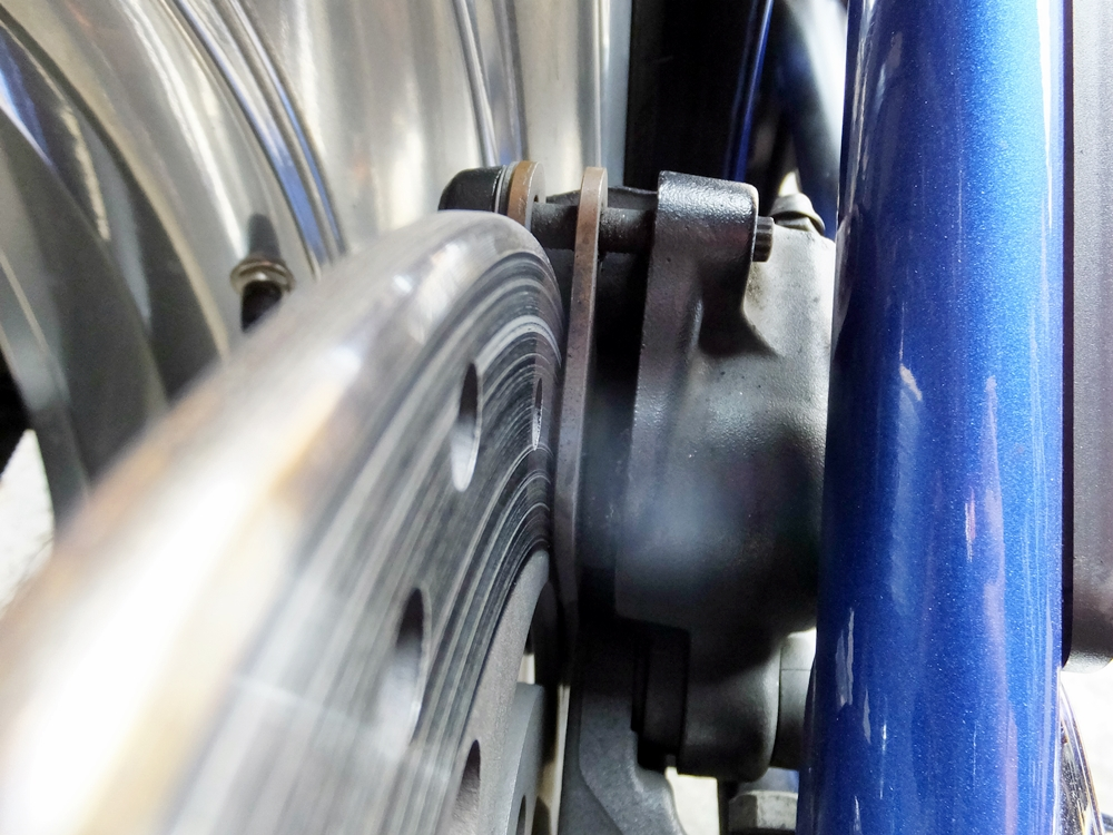 2011FXCWC オイル・タイヤ・ブレーキパッド交換1