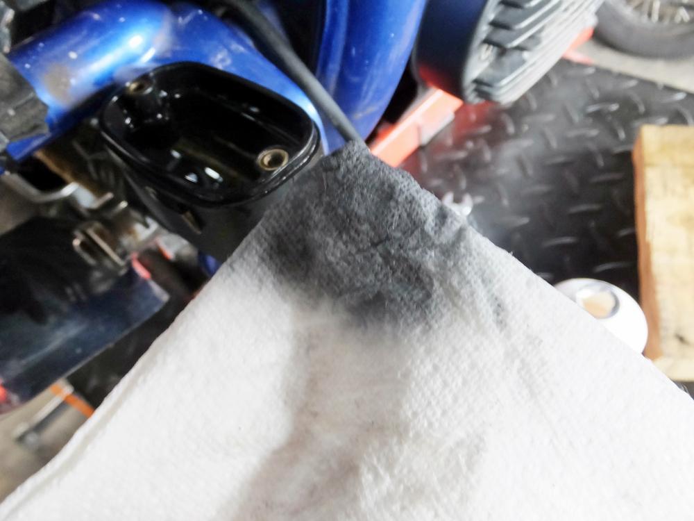 2011FXCWC オイル・タイヤ・ブレーキパッド交換3