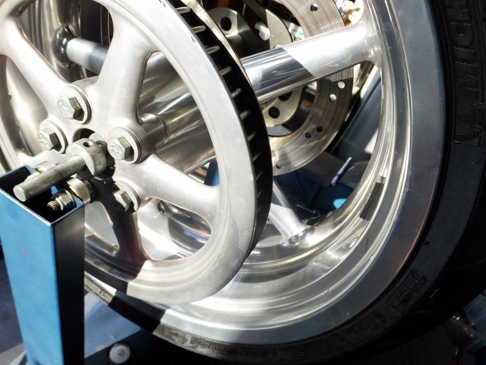 2011FXCWC オイル・タイヤ・ブレーキパッド交換5