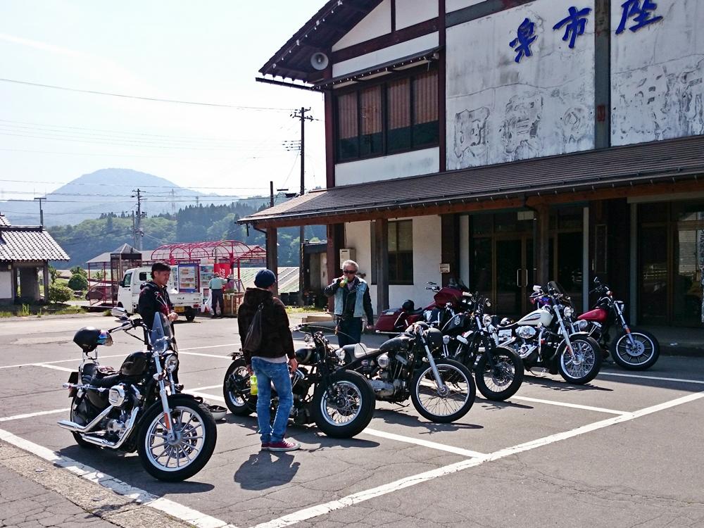 2016.05.29 新潟のカスタムハーレーで朝ツーリング1
