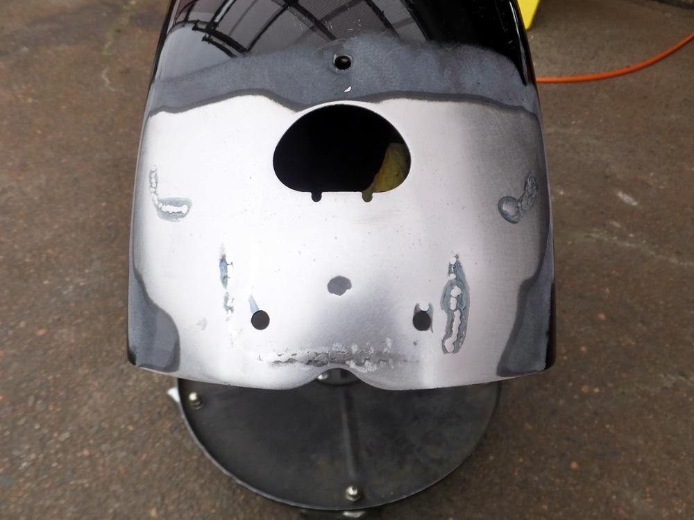 2011FXDB 車検・オイル交換・リアフェンダー修理7