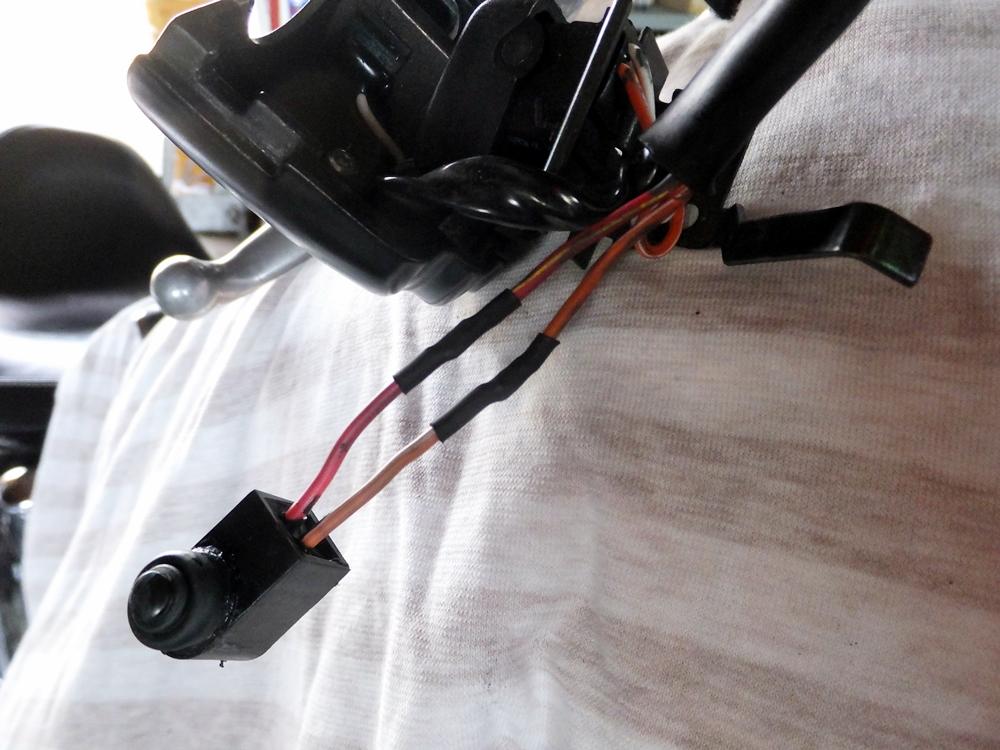 2010FXSTC テールライト ウインカー 配線修理3