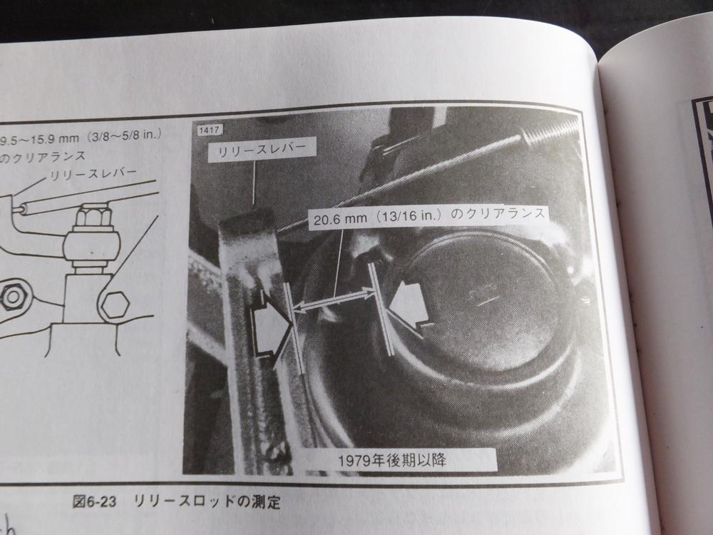 1981FXB クラッチ・シフトトラブル6