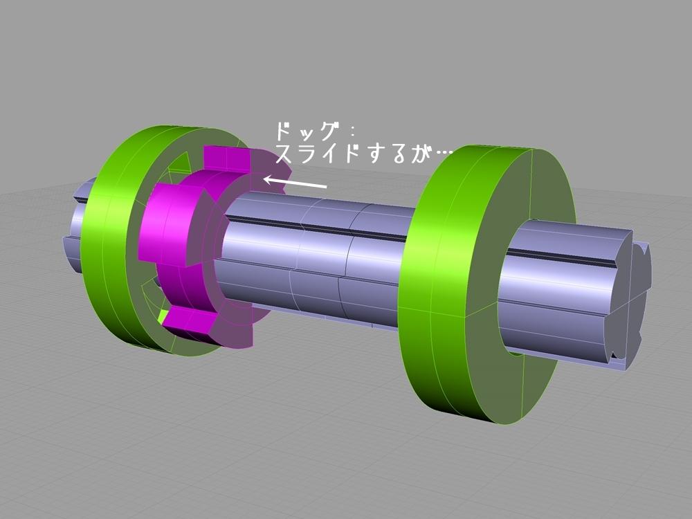 ショベルヘッド 4速トランスミッション シフトの構造3