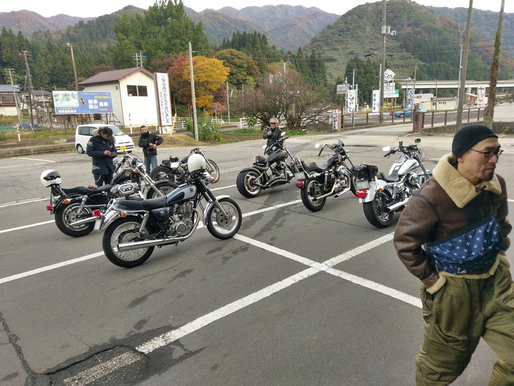 2016.10.30 ハーレーツーリング 長岡 麺や真登2