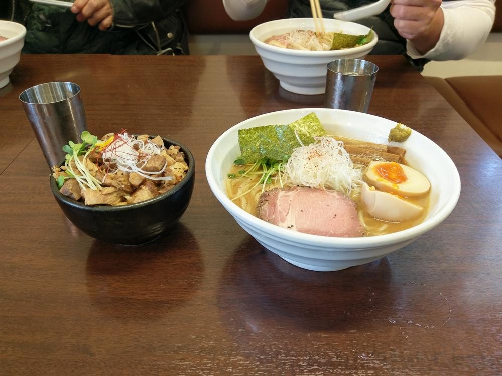 2016.10.30 ハーレーツーリング 長岡 麺や真登5