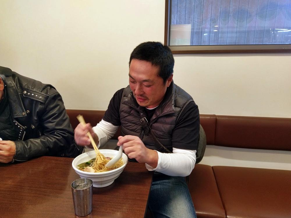 2016.10.30 ハーレーツーリング 長岡 麺や真登7