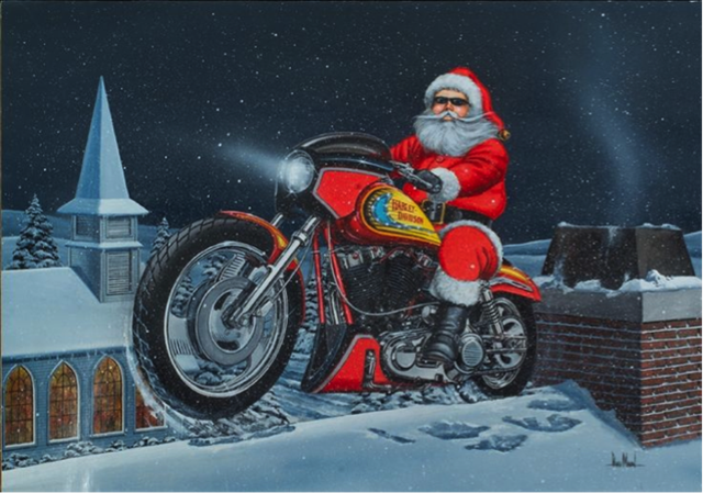 motoracycle industry christmas