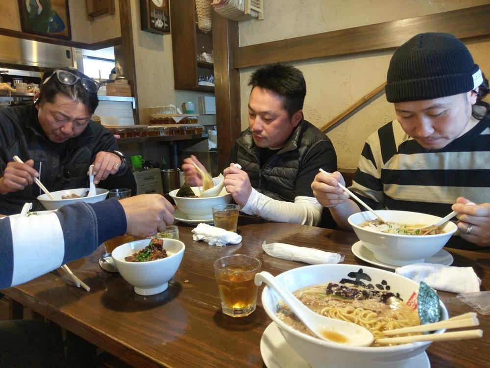 2017.04.23ツーリング 上越市 麺屋あごすけ6
