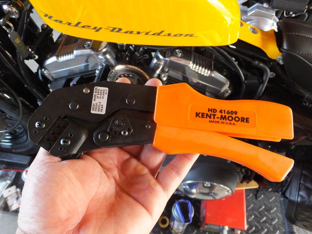 2012年式XL1200X ウインカー・テールライトカスタム4