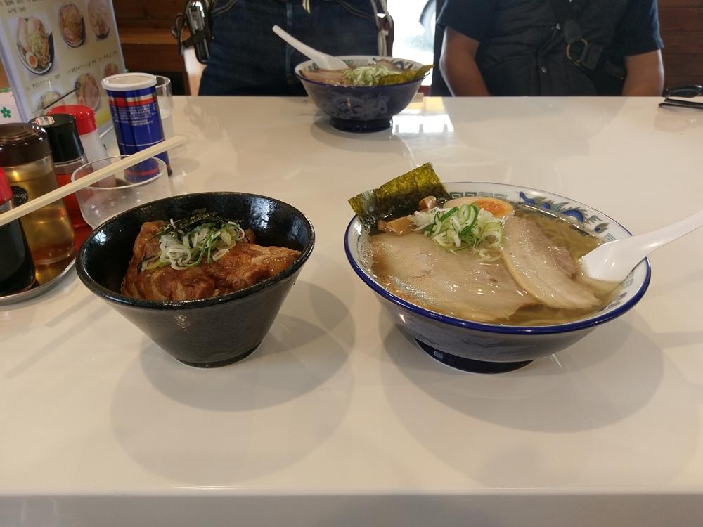 2017.07.30ツーリング 寒河江市 麺場 くうが?12