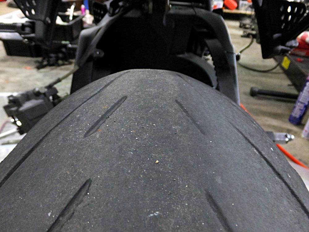 2009XB12Ss 前後タイヤ交換3