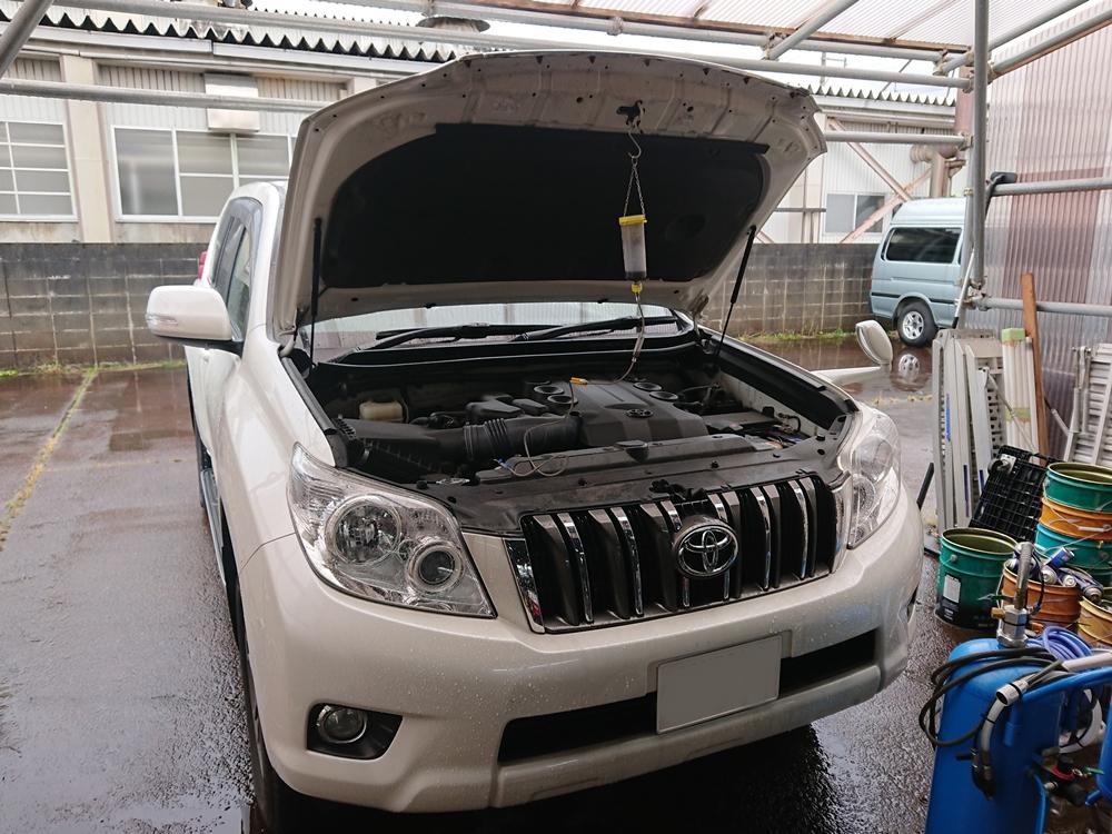 トヨタ ランドクルーザー プラド 150系 2009XB12R エンジン内部コーティング オイル添加剤