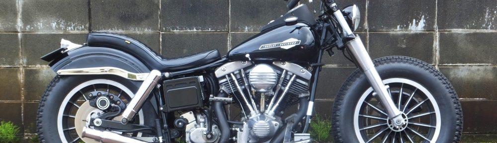 1980FLH1200 ボバーカスタム1