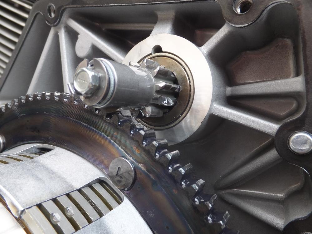 2005FXDC スターターリングギア破損 セルスターター セルモーター 空転 修理2