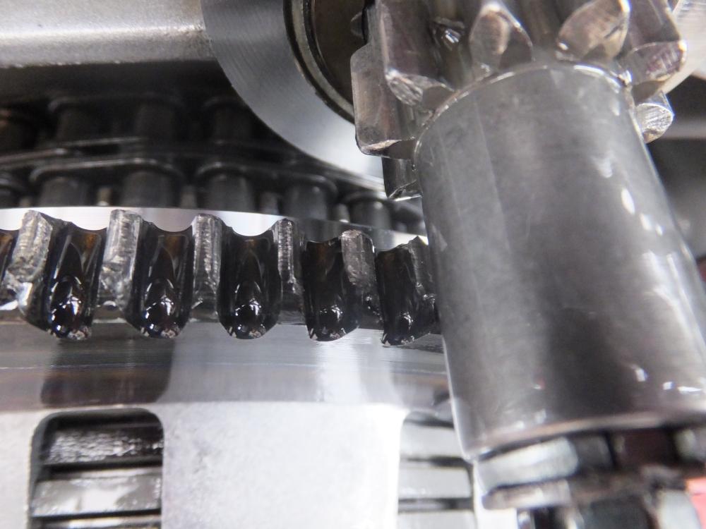 2005FXDC スターターリングギア破損 セルスターター セルモーター 空転 修理3
