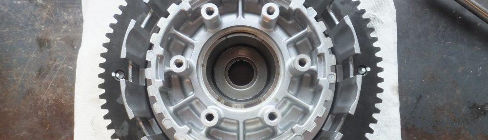 2005FXDC スターターリングギア破損 セルスターター セルモーター 空転 修理6