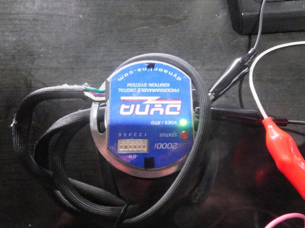 ダイナ2000i キック始動用データ書き換え3