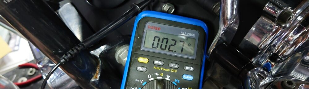 2000FLSTC オルタネーター ステーターコイル 交換1
